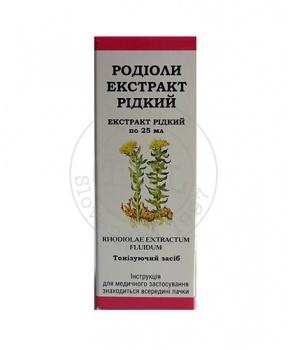 EXTRAKT RHODIOLY 25 ml