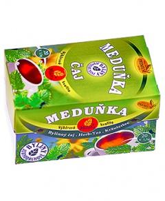 MEDUŇKA čaj porcovaný 30g uklidnění, meduňka, srdce, koliky, nadýmání, čaj, milota