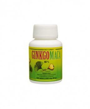 GINKGO MACA 80% 100ks ginkgo, maca, mozek, síla, energie, hormony, sex