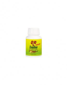 KOENZYM Q10 + ŽENŠEN 60 tablet ženšen, koenzym Q 10, energie, stimulant