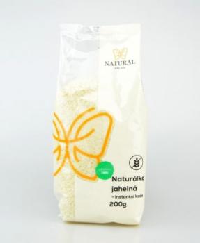 NATURÁLKA JAHELNÁ 200 g kaše, jáhly, jahelná kaše, rýžová kaše, rýže