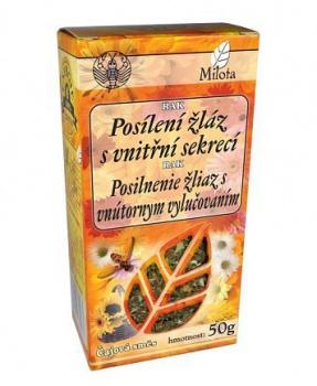RAK - POSÍLENÍ ŽLÁZ S VNITŘNÍ SEKRECÍ sypaný čaj 50g žlázy, trávicí trakt, žaludek, dvanácterník, nervový systém orgánů, kojení