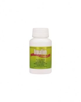 INULÍN + VITAMIN C 80 tablet inulín, vláknina, zácpa, průjem