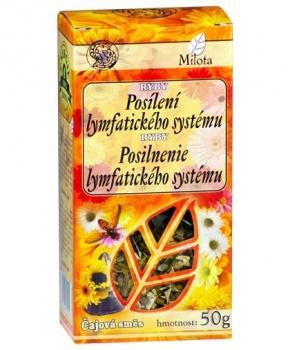 RYBY - POSÍLENÍ LYMFATICKÉHO SYSTÉMU sypaný čaj 50g lymfatický systém, chemoterapie, bylinný čaj, čaj, milota