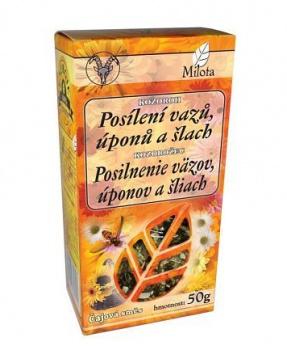 KOZOROH - POSÍLENÍ VAZŮ, ÚPONŮ A ŠLACH sypaný čaj 50g pohybový systém, klouby, vazivo, revma, bylinný čaj, čaj, milota