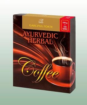AJURVÉDSKÉ KAFE - GARCINIA FORTE 100 g garcinia, ajurvédské kafe, instantní kávovinový nápoj
