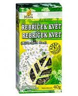 ŘEBŘÍČEK květ 40 g řebříček, koliky, nechutenství, průjem, hojení, protizánětlivý, proti kašli