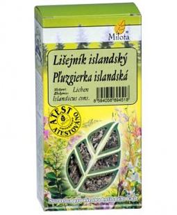 LIŠEJNÍK ISLAND. stélka 50 g lišejník, trávení, živiny, tonikum. zánět