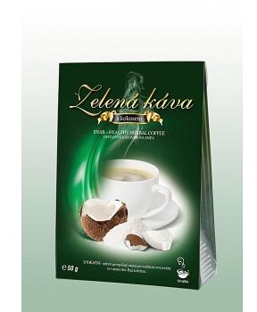 ZELENÁ KÁVA 50 g - KOKOS zelená káva, instantní kávovinový nápoj