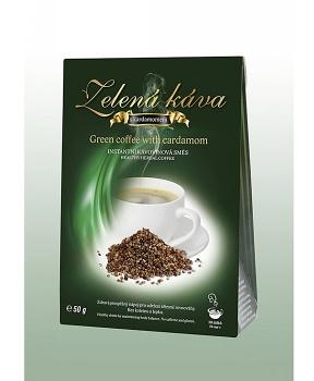 ZELENÁ KÁVA 50 g - KARDAMON instantní kávovinový nápoj, instantní zelená káva