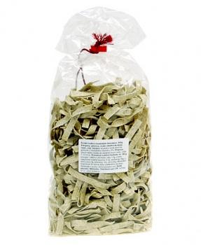 TĚSTOVINY S MEDVĚDÍM ČESNEKEM 500 g těstoviny,medvědí česnek,bezvaječné těstoviny