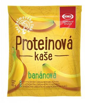 PROTEINOVÁ KAŠE BANÁN 65 g instantní kaše, proteinová kaše, kaše se zvýšeným obsahem bílkovin