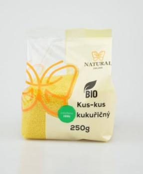 KUS-KUS KUKUŘIČNÝ BIO 250 g kuskus, kukuřičný kuskus, kukuřice, bez lepku, krupice