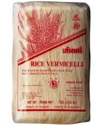RÝŽOVÉ VLASOVÉ NUDLE 200 g rýžové nudle, rýžové vlasové nudle, asijská kuchyně