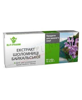ŠIŠÁK BAJKALSKÝ 40 tablet