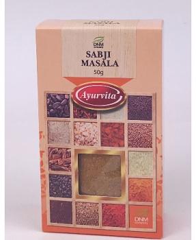 SABJI MASALA 50g sabji masala, zelnina, luštěniny, indická kuchyně, Indie