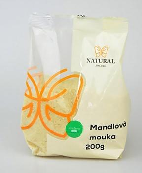 MANDLOVÁ MOUKA 200 g mandlová mouka, makronky, mandle, mouka, bez lepku, bezlepkové pečení