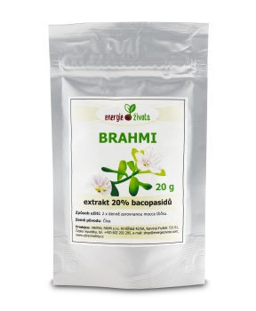 BRAHMI - extrakt 20% 20g