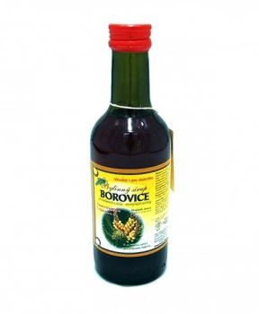 BOROVICE - bylinný sirup 250 ml