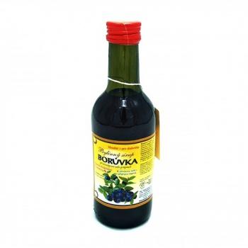 BORŮVKA - bylinný sirup 250 ml