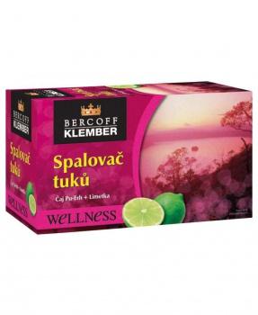 SPALOVAČ TUKŮ S LIMETKOU porcovaný čaj 30g spalovač tuků, dieta, hubnutí, pu-erh, metabolismus