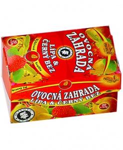 OVOCNÁ ZAHRADA porcovaný čaj 40 g čekanka,černý bez,lípa