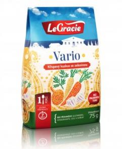20% SLEVA - VARIO - KUSKUS SE ZELENINOU 75 g  kuskus, kuskus se zeleninou, legracie, zdravý oběd, rychlovka, jídlo do práce