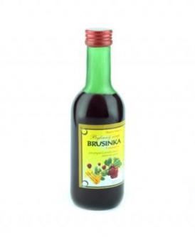 BRUSINKA - bylinný sirup 250 ml