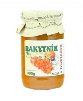 RAKYTNÍK S FRUKTÓZOU 300 g rakytník, džem s rakytníkem, dia marmeláda, džem  s rakytníkem, fruktóza, džem  s fruktózou