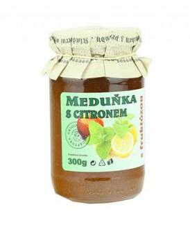 MEDUŇKA S CITRONEM 300 g džem, dia marmeláda, dia džem, ovocná pomazánka, meduňka, fruktóza