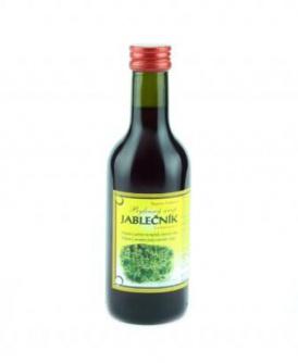 JABLEČNÍK - bylinný sirup 250 ml bylinný sirup bez cukru, bylinný sirup s fruktózou, sirup na potíže se žlučníkem