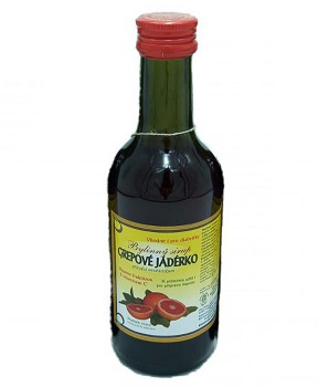 GREPOVÉ JADÉRKO - bylinný sirup 250 ml bylinný sirup bez cukru, bylinný sirup s fruktózou