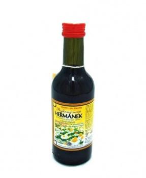 HEŘMÁNEK - bylinný sirup 250ml bylinný sirup bez cukru, bylinný sirup s fruktózou