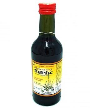 ŘEPÍK - bylinný sirup 250 ml bylinný sirup bez cukru, bylinný sirup s fruktózou, řepík