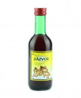 ZÁZVOR - bylinný sirup 250 ml