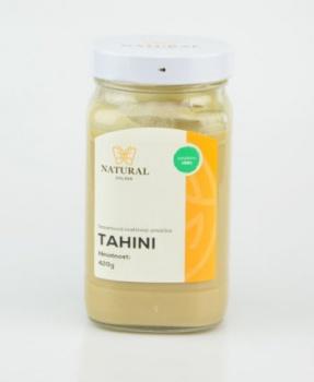TAHINI - pasta ze sezamu 420 g hummus,sezam,sezamová pasta,falafel,chalva,pomazánka,vegan,bílkoviny,tuky,soustředění,vitamín E,vitamín B,fosfor,draslík,hořčík
