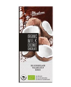 Mléčná čokoláda s kokosovými lupínky 100g
