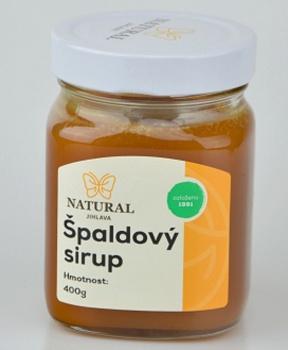 ŠPALDOVÝ SIRUP 400 g