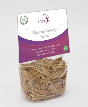 BÍLKOVINNÉ TĚSTOVINY FLEKY 250 g bílkovinové těstoviny,bílkoviny,low carb,vegan,rýže