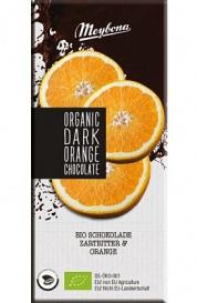 Hořká čokoláda pomeranč 100g