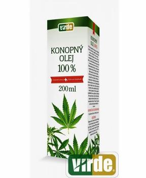KONOPNÝ OLEJ 200 ml konopný olej omega 3