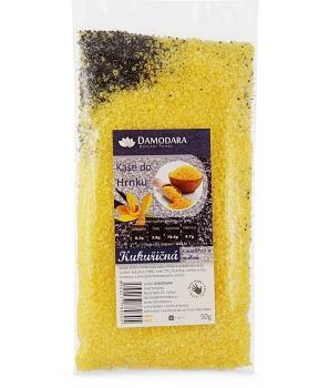KAŠE DO HRNKU - kukuřice, mák 50 g kaše do hrnku, bezlepková kaše instantní, bezlekový kaše instantní do hrnku