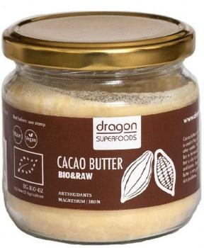 KAKAOVÉ MÁSLO 100% BIO, RAW 300 ml kakaové máslo, kakaové máslo bio raw