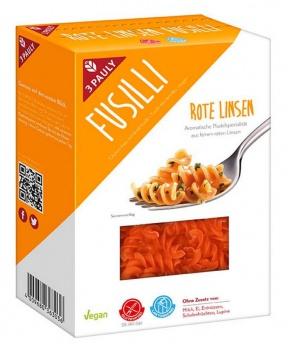 TĚSTOVINY Z ČERVENÉ ČOČKY 250g červená čočka,těstoviny z čočky,bezlepkové těstoviny,celiakie,diabetes,luštěniny,bílkoviny,glukóza.vegan