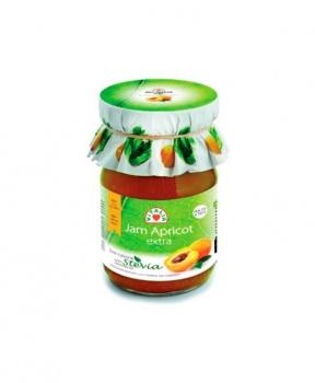 MERUŇKOVÝ DŽEM SE STÉVIÍ 230g meruňkový džem, džem se stévií, džem pro diabetiky