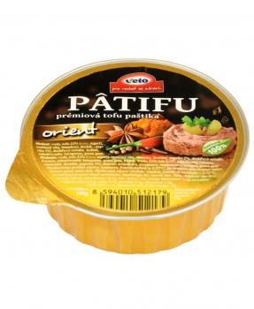 PATIFU ORIENT 100g paštika,tofu paštika,vegan,pomazánka,prémiová tofu paštika