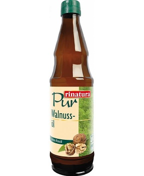 OLEJ Z VLAŠSKÝCH OŘECHŮ BIO 500 ml 100% olej z vlasšských ořechů, přírodní olej z ořechů
