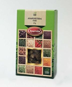 ASAFOETIDA čistá 25 g náhrada za cibuli,koření,nadýmání,střeva,paraziti