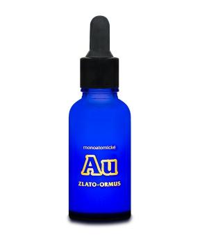 MONOATOMICKÉ ZLATO - ORMUS 30 ml monoatomární zlato, zlato, stárnutí, energie, hojení ran, ormus, imunita, závislost, nádor, rakovina, stres, harmonie