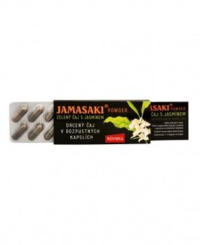JAMASAKI POWDER SMĚS V KAPSLÍCH 10ks jamasaki, červený čaj, zelený čaj, jasmínový čaj, směs čajů, hannasaki, čaj v kapslích, cestovní balení